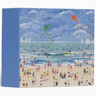 A Cornish Beach Vinyl Binders