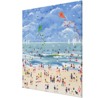 A Cornish Beach Canvas Print
