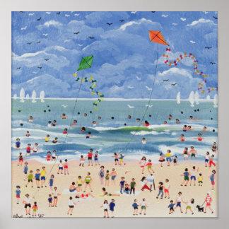 A Cornish Beach Poster