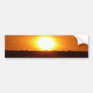 A Cornish Sunset Bumper Sticker