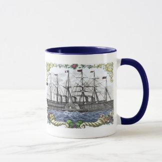 A Cornucopia of Ship Mug