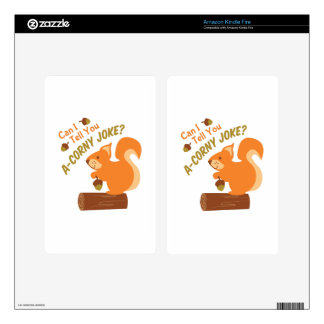 A Corny Joke Decals For Kindle Fire