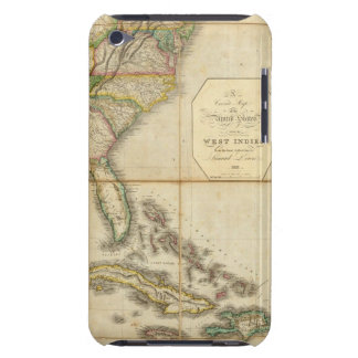 A Correct Map of the United States iPod Touch Case