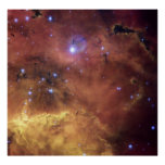 A cosmic concoction in NGC 2467 Print
