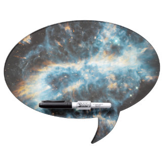 A Cosmic Holiday Ornament, Hubble-Style Dry Erase Board