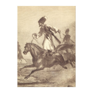 A Cossack Horseman Gallery Wrapped Canvas