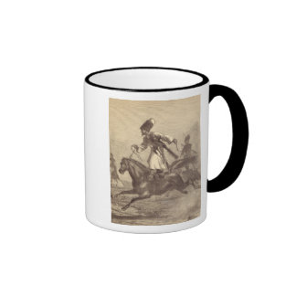 A Cossack Horseman Ringer Mug