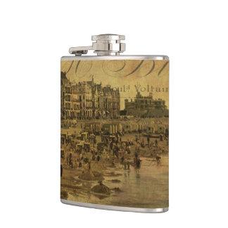 A Côté de la Mer Hip Flasks