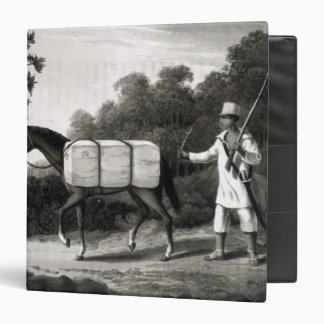 A Cotton Carrier, from 'Travels in Brazil' Binder