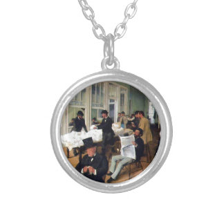 A Cotton Office In New Orleans Silver Plated Necklace