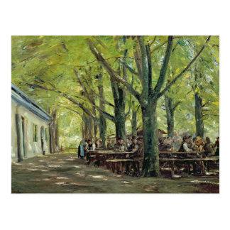 A Country Brasserie, Brannenburg, Bavaria, 1894 Postcard