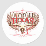A Country Called Texas Sticker
