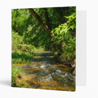 A Country Creek 3 Ring Binder