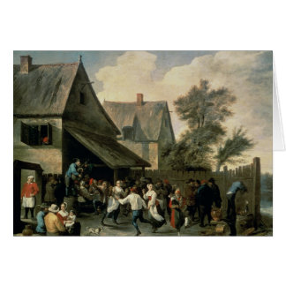 A Country Dance Card