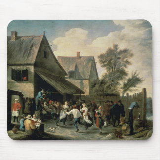 A Country Dance Mouse Pad