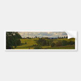 A country drive in Oregon Bumper Sticker