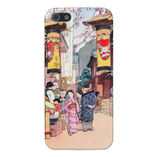 A Country Festival at Kono  Hiroshi Yoshida iPhone SE/5/5s Case
