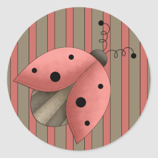 A Country Garden Lady Bug(Red) Letter Seal