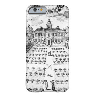 A country house garden, from 'The Gentlemen's Recr iPhone 6 Case