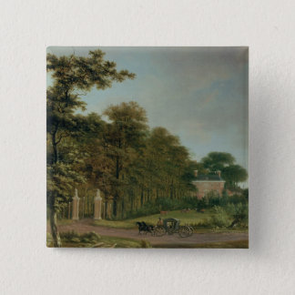 A Country House Pinback Button