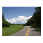 A Country Road Postcard