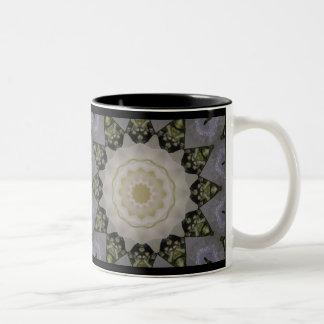 A Country Rose Two-Tone Coffee Mug