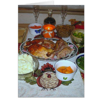 A Country Thanksgiving! Card