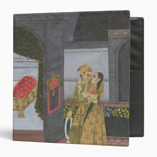 A Couple, illustration from the 'Malavi Ragini' Binder