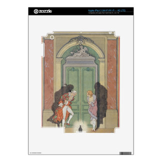 A Couple in Candlelight, illustration from 'Les Li iPad 3 Skins
