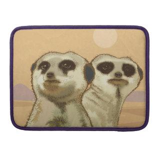 A couple of Meerkats MacBook Pro Sleeves