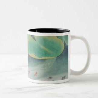 A Couple under Lotus Coffee Mugs