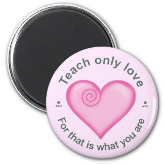A Course in Miracles Fridge Magnet