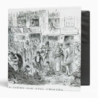 A Court for King Cholera, 1852 3 Ring Binder