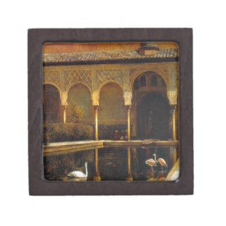 A Court in the Alhambra by Edwin Lord Weeks Gift Box