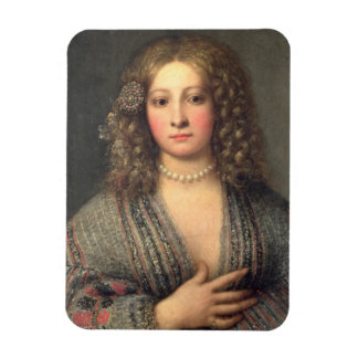 A Courtesan (oil on canvas) Magnet