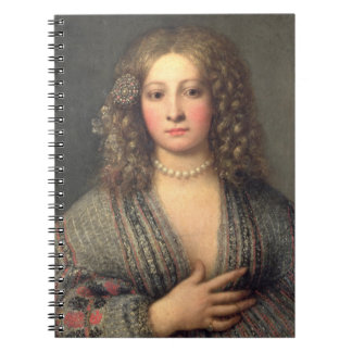 A Courtesan (oil on canvas) Notebook