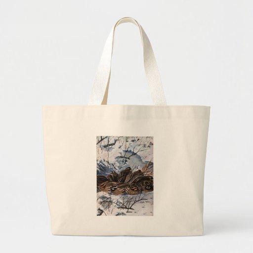 A Covey of Bobwhites Jumbo Tote Bag