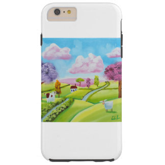 A cow and a sheep tough iPhone 6 plus case