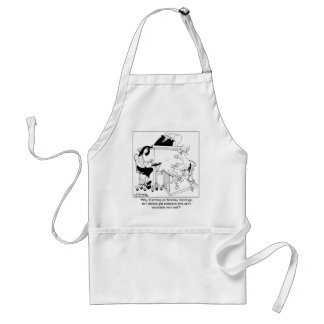 A Cow Gives Testimony Adult Apron