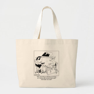 A Cow Gives Testimony Tote Bags