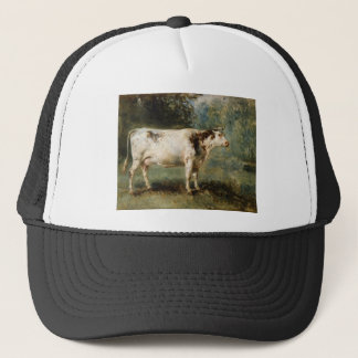 A Cow in a Landscape by Constant Troyon Trucker Hat