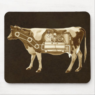 A Cow Is A Food Factory - More Milk For Victory Mouse Pad