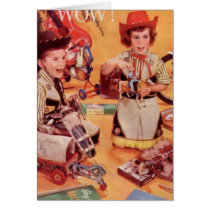 A Cowboy Christmas Card