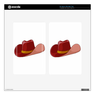 A cowboy's hat decals for kindle fire