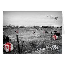 A Cow's Christmas - Pennsylvania Card