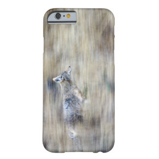 A coyote runs through the hillside blending into iPhone 6 case