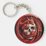 A cr�ne for Halloween - Key Chain