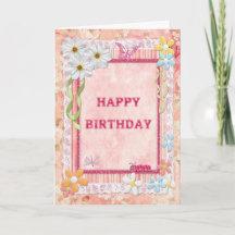 craft birthday card