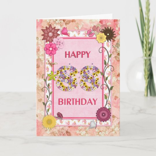 A Craftlook 88th Birthday Card