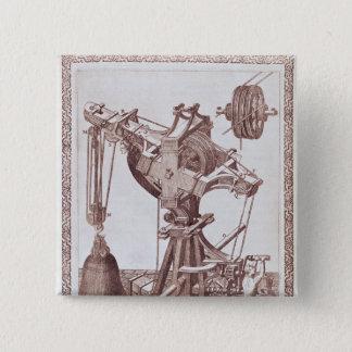 A Crane Pinback Button